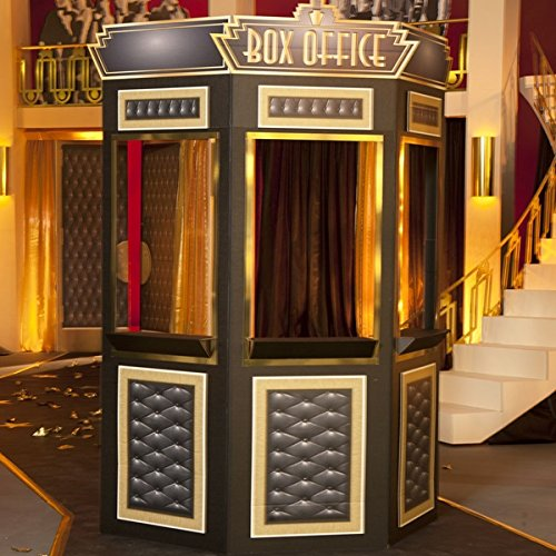 Two Please, Cinema Ticket Booth Kit - Hollywood Theme Party Prop ()