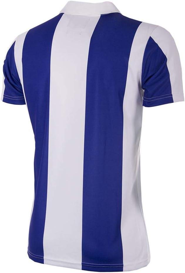 COPA Mens Fc Porto 1986-87 Retro Football Shirt Retro Football Collar T-Shirt