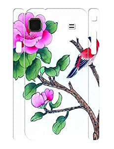 Funny Flowers and Birds Print Hard Plastic Case Cover for Samsung Galaxy S I9000 wangjiang maoyi