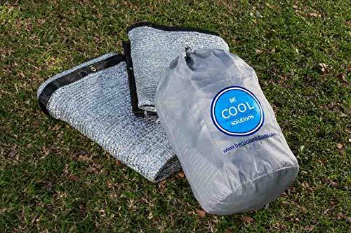 Be Cool Solutions 70/% Reflective Aluminet Shade Cloth