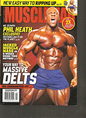 Musclemag International Magazine (Your way to Massive Delts, January 2012) ()