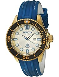Invicta Womens 20211 Pro Diver Analog Display Swiss Quartz Blue Watch