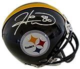 Hines Ward Signed Mini Helmet - Leaf - Autographed NFL Mini Helmets