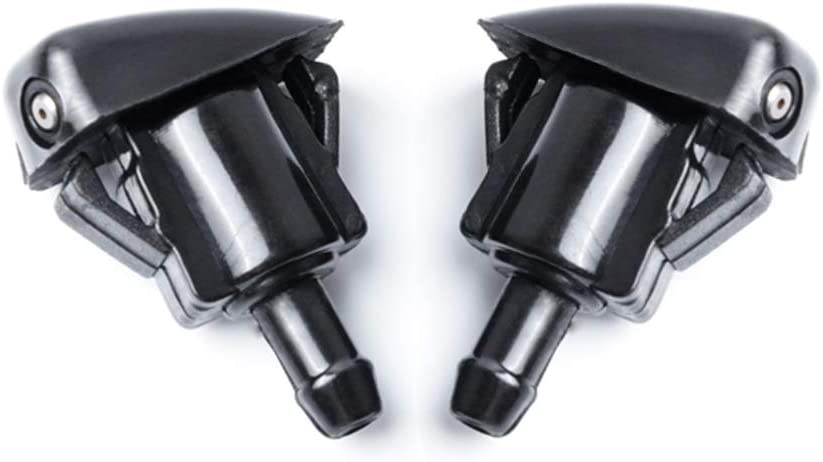 OTUAYAUTO Front Windshield Washer Nozzles - Replacement for 99-08 Toyota Corolla, 97-01 Toyota Camry, 05-10 Toyota Tacoma, 00-05 Toyota Echo - Replaces OEM #: 85381-AA010, Spray Jet Kit (pack of 2)
