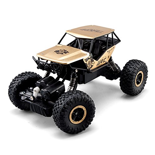 BTG JJRC Q50 Monster Remote Control Vehicle 2.4GHZ 4WD Shaft Drive RC Truck Off-Road Racing Car RC Crawler (Rc Car Off Road 6)