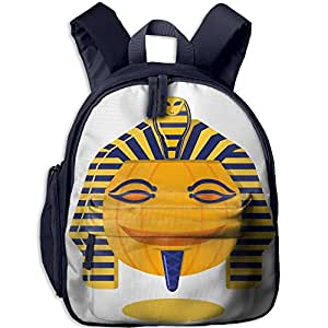 Children's Cartoon Pumpkin Pharaoh Halloween Book Bags/Packbags School Bag For Kids