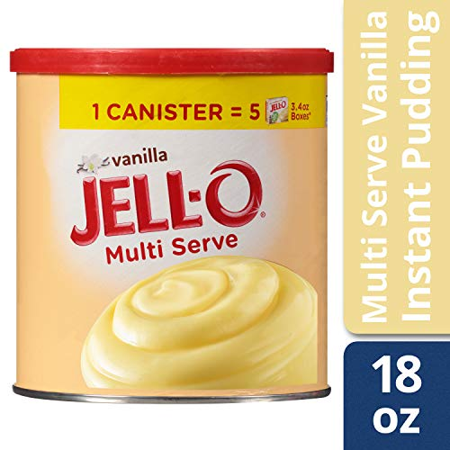 JELL-O Vanilla Instant Pudding & Pie Filling Mix (18 oz Box)