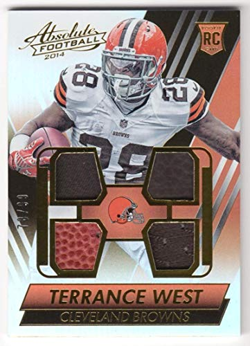 cf1cd24a968c7a Terrance West 2014 Panini Absolute Rookie Jersey Ball Glove #38 NM-MT RC  Rookie. found at Amazon