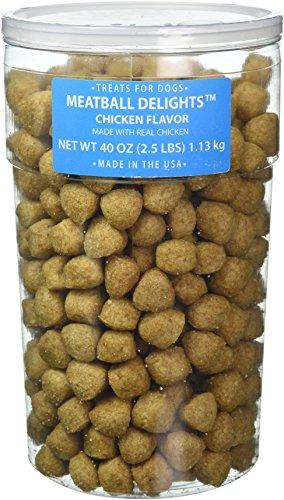 Meatball Dog Treats, 40-Ounce - Meatball Flavor