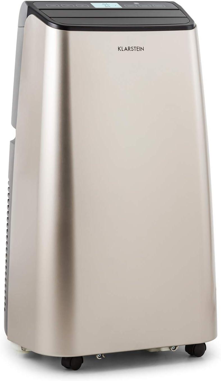 2,05KW Climatiseur Mobile KLARSTEIN Metrobreeze New York D/éshumidificateur 290m/³//h Blanc Neige T/él/écommande 7000BTU//h Minuterie programmable Ventilateur Temp/érature r/églable 17-30/°C