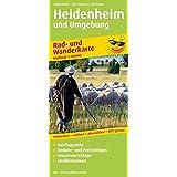 Heidenheim und Umgebung: Rad- und Wanderkarte mit Ausflugszielen, Einkehr- & Freizeittipps, wetterfest, reißfest, abwischbar, GPS-genau. 1:60000 (Rad- und Wanderkarte / RuWK)