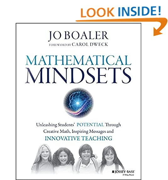 Amazon mathematical mindsets unleashing students potential amazon mathematical mindsets unleashing students potential through creative math inspiring messages and innovative teaching 9780470894521 jo fandeluxe Image collections