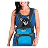 Kyjen Outward Hound Front Carrier Backpack Medium BLUE