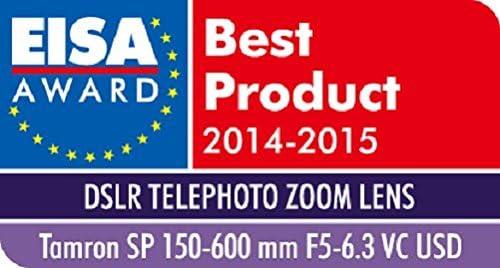 Objetivo para Sony//Minolta Incluye Parasol y Montura para tr/ípode Color Negro Distancia Focal 150-600mm, Apertura f//5-6.3, di/ámetro: 95mm Tamron SP 150-600 MM F//5-6,3 Di USD