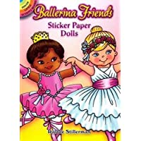 Ballerina Friends Sticker Paper Dolls (Dover Little Activity Books Paper Dolls)