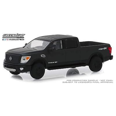 New DIECAST Toys CAR Greenlight 1:64 Black Bandit Series 21 - 2020 Nissan Titan XD PRO-4X 27990-E: Toys & Games