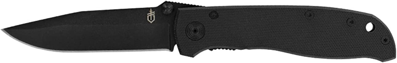 Gerber Air Ranger Knife, Fine Edge, Black G-10 [31-002950]