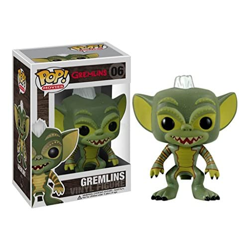 Gremlins: Funko POP! Movies x Gremlins Vinyl Figure + 1 FREE Classic Sci-fi & Horror Movies Trading Card Bundle [22888]