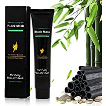 Venus Visage Black Mask,Blackhead Mask,Blackhead Remover Mask, Activated Charcoal Face Mask Peel Off Mask Deep Cleansing Facial Mask