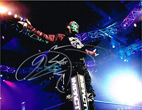 WWE TNA JEFF HARDY AUTOGRAPHED 11X14 PHOTO AUTO SIGNED AUTOGRAPH