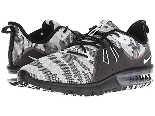 [NIKE(ナイキ)] メンズランニングシューズ?スニーカー?靴 Air Max Sequent 3 Premium Black/White 12.5 (30.5cm) D - Medium
