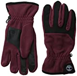 Timberland Men's Performance Fleece Glove with Touchscreen Technology, Chocolate Truffle, Medium