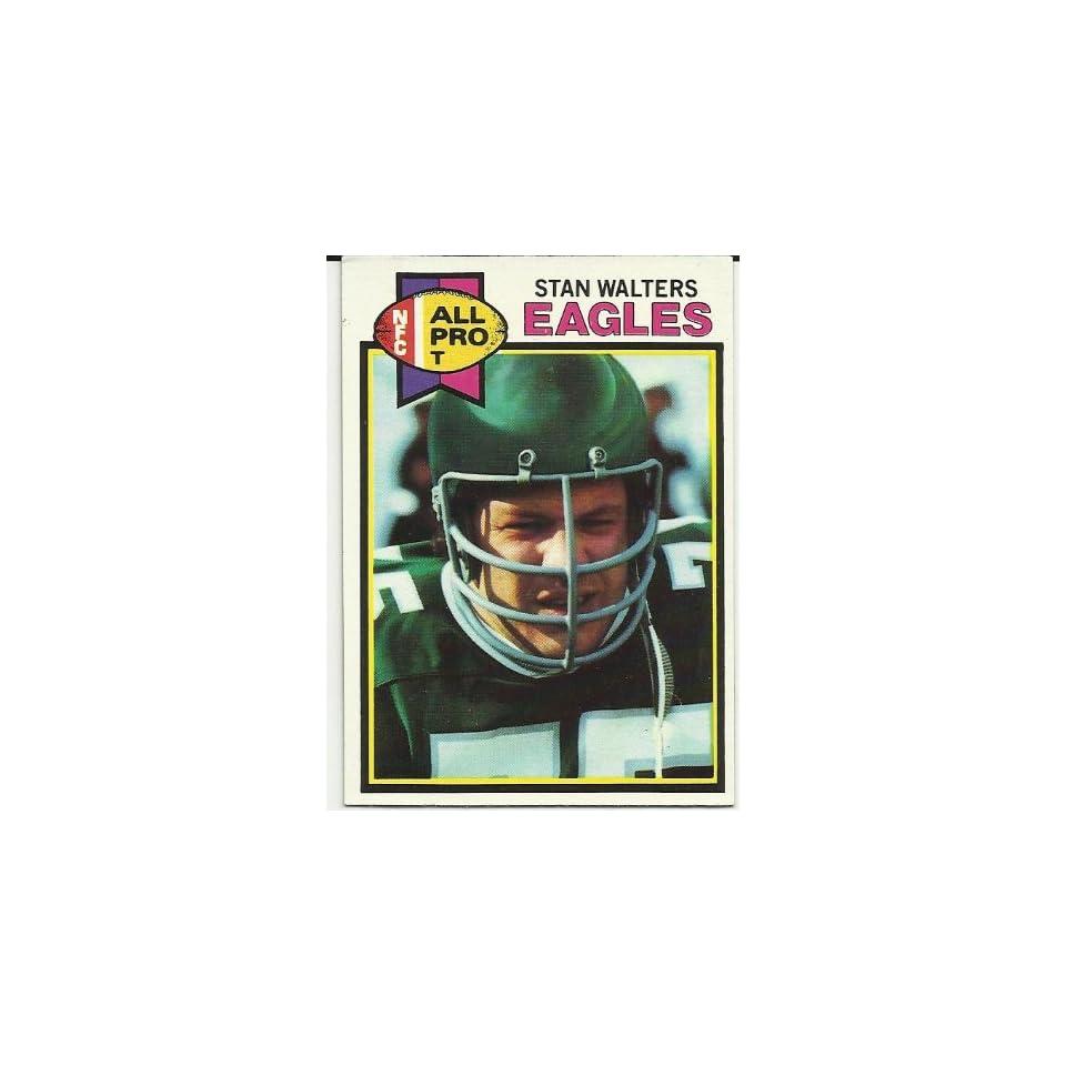 1979 Topps Stan Walters (Philadelphia Eagles) Football Trading Card #339