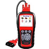 Autel MaxiDiag MD805 (Upgraded Version of MD802 Full Systems) OBD2 Scanner for Engine,Transmission,ABS,Airbag,EPB,Oil