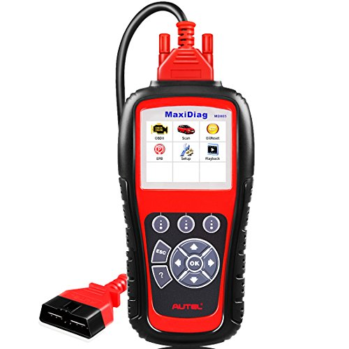 - Autel MaxiDiag MD805 (Upgraded Version of MD802 Full Systems) OBD2 Scanner for Engine,Transmission,ABS,Airbag,EPB,Oil Service Reset, OBDII Diagnostic Tool Error Code Reader