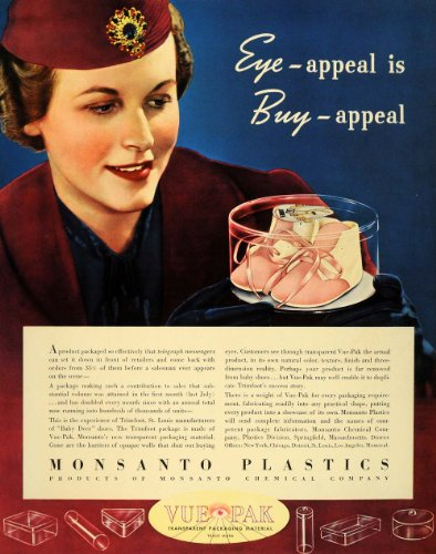 1939-ad-monsanto-plastics-vue-pak-pink-baby-deer-shoes-original-print-ad