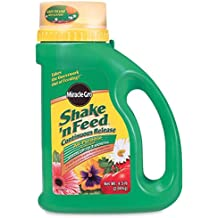 Miracle-Gro Shake 'n Feed Continuous Release All Purpose Plant Food, 4.5-Pound (Slow Release Plant Fertilizer)