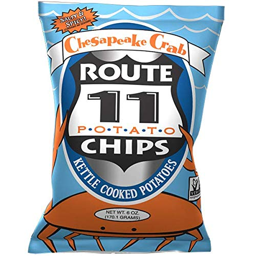 Route 11 various Potato Chips (Chesapeake Crab, 6oz (3 - Chip Crab