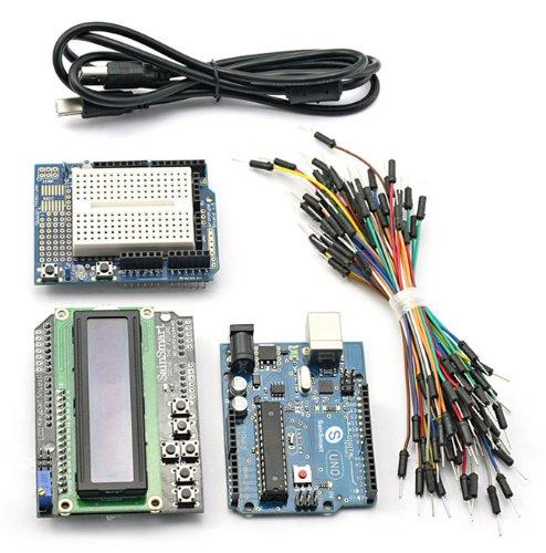 SainSmart Keypad Prototype Breadboard Arduino