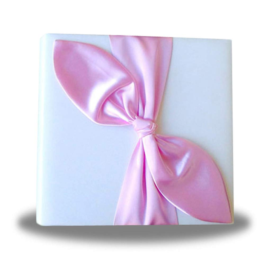 SACASUSA Gold Satin Bow Ivory Photo Album for Any Special Occasions, Great Gift by SACASUSA (Image #4)