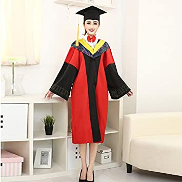KAIMENG Matte Graduation Gown Cap Tassel Set 2018 For High School Bachelor 0946649422f2