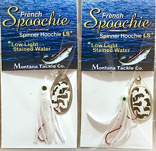 Montana Tackle Kokanee Salmon Spinner-Hoochies (2):