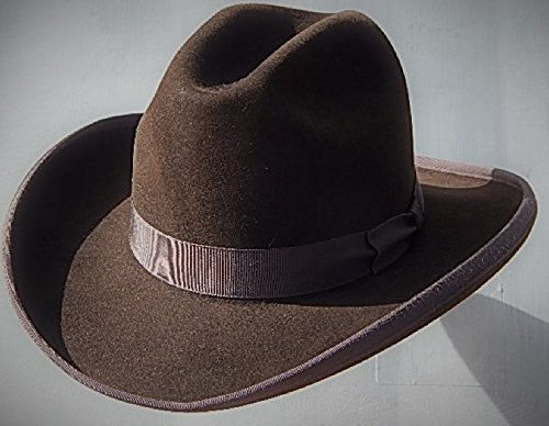 Amazon.com  A111- 8X Western Fedora Hat  Handmade 01cd0508ae2