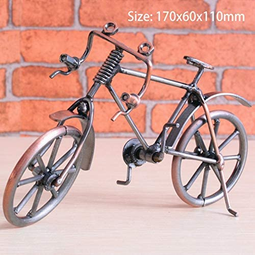 GetBeauty-US Bike Model Metal Craft Home Desktop Decoration Bicycle Children Toy Gifts / GetBeauty-US Bike Model Metal Craft Home Desktop Decoration Bicycle Children Toy Gifts