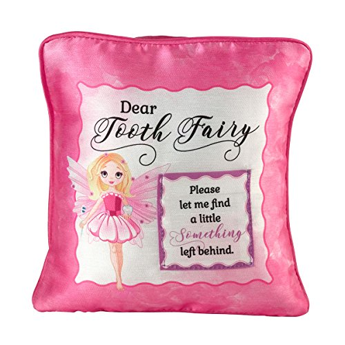 (Lillian Rose Fairy Tooth Fairy Pillow, Pink)