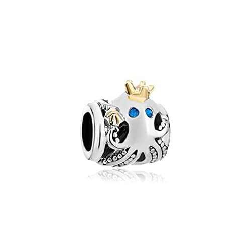 398902550 Amazon.com: Beach Charm Blue Crystal Crown Nautical Octopus Dangle Bead  Fits Pandora Charms Amazon: Jewelry