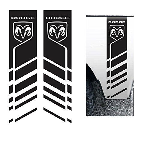(Ram 1500,2500,3500 Racing Strip Die Cut Vinyl Decal Truck Sticker 9