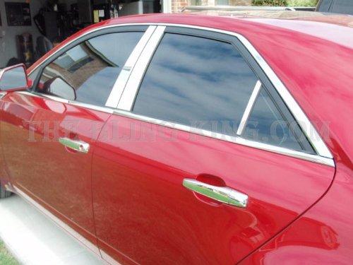 (2003-2007 Cadillac CTS SES Chrome Pillar Posts 6 Pc.)