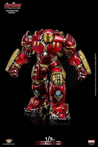 STERLING King Arts KA 1/9 Avengers AOU Ultron Diecast Iron Man Hulkbuster MK 44 XLIV New