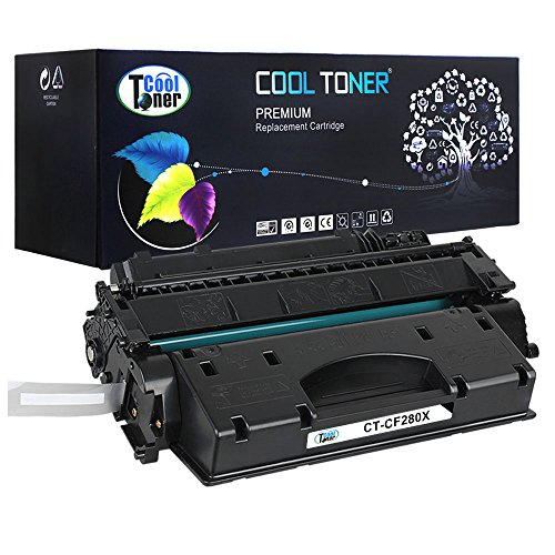 Cool Toner 1 Pack 6,900 Pages Compatible Toner Cartridge Replacement For HP 80X CF280X CF280 Used For HP LaserJet Pro 400 M401 M401dw M401n M401dn M401dne MFP M425dn ImageClass LBP6300dn LBP6650dn