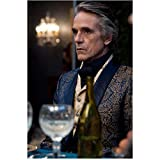 Beautiful Creatures Jeremy Irons as Macon Ravenwood sitting at dining table 8 x 10 Inch Photo