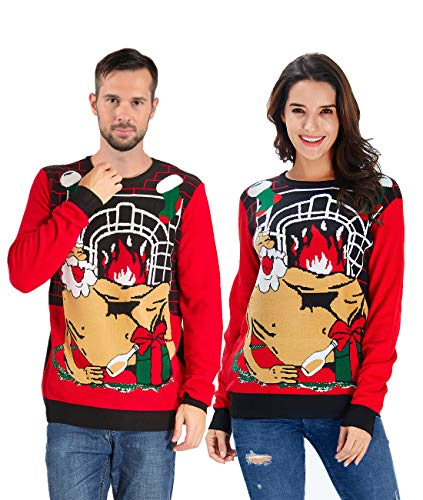 Hilarious Sassy Sants Xmas Sweater worth it! By Uideazone