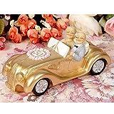 Luwint 50th Polyresin Statues - Wedding Car Elderly
