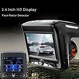 ZHUOTOP New 2.4 HD 1080P Car Video Camera Recorder Dash Cam Radar Speed Detector DVR