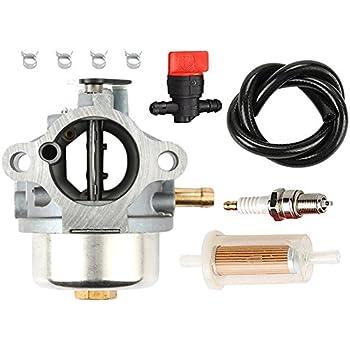 Carburetor Assembly Kit For John Deere STX38 STX46 Riding Mower Engine 12.5 HP