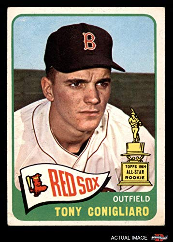 1965 Topps # 55 Tony Conigliaro Boston Red Sox (Baseball Card) Dean's Cards 3 - VG Red Sox